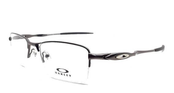 Armação Masculina Óculos Oakley P/grau Ou Lupa De Descanso