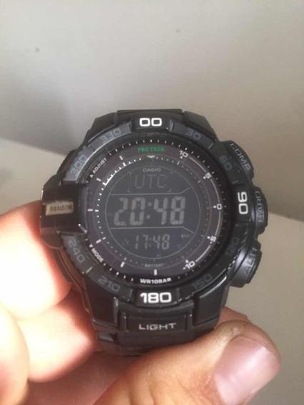Relógio Casio Prg 270 Triplo Sensor