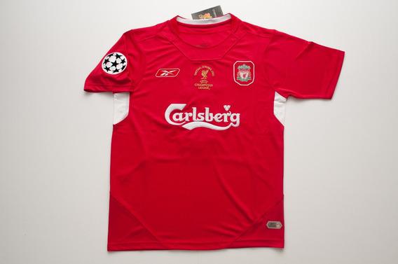 Camiseta Del Liverpool Año 2005 Gerrard Retro