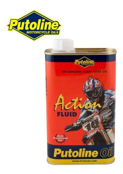 Oleo De Filtro De Ar Putoline Action Fluid 1 Litro