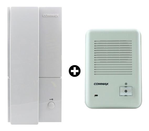 Kit Portero Eléctrico Frente Exterior+ Telefono Dp-201commax
