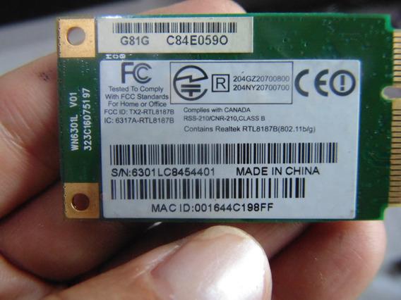 Placa Wireless P O Notebook Gateway Sa1 M-1625 Wn6301l