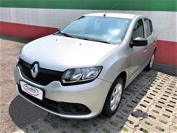 Sandero Authentique 1.0 Flex, Completo. Lindo Carro!