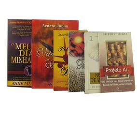 Lote 6 Livro Religioso Em Português Prosperidade Deus B6005