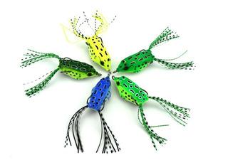 Kit 20 Frog - Isca Artificial - Sapo Sapinho Anti Enrosco