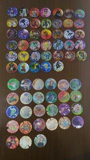 Coleção Kit 203 Tazos Cards Elma Chips