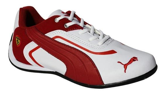 Tênis Ferrari Masculino Corrida Esportes Confortável Mácio