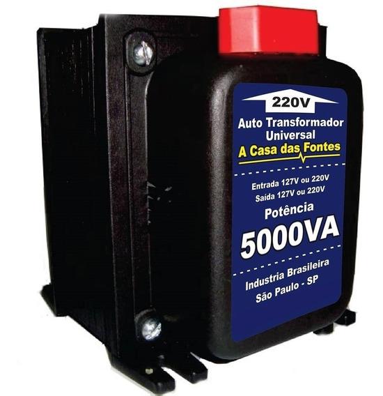 Transformador 5000va 110 220 Ou 220 110 Frete + Barato Sp