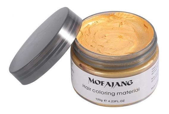 Mofajang Colors Pomada Que Muda Cor Cabelo Colorido - Gold