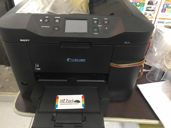 Impressora Canon Mb 2710 Com Bulk Tinta Corante Nova