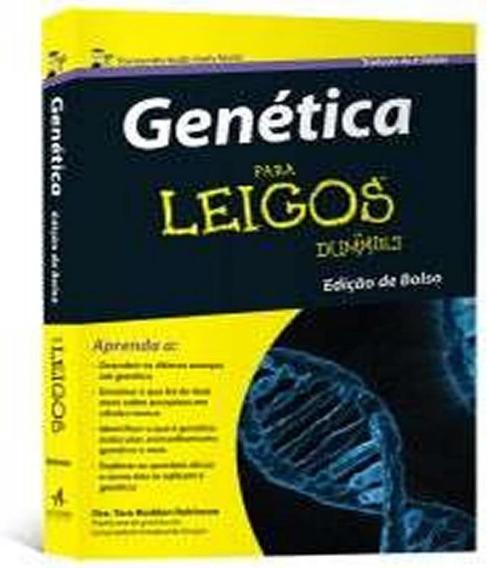 Genetica Para Leigos - 02 Ed - Bolso