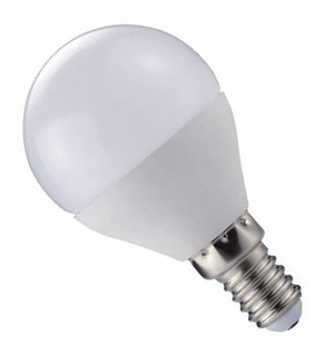 Lámpara Gota Led 7w Rosca Chica Mignon E14 Cálida / Fría