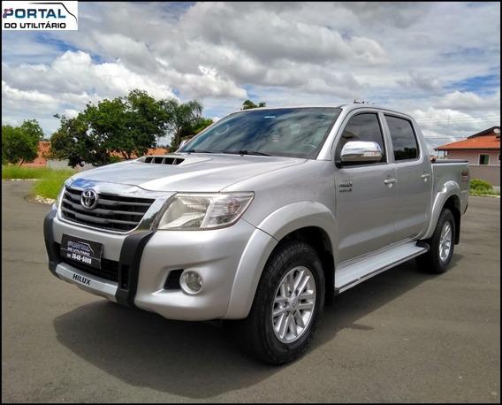 Toyota Hilux Srv - 2012 - Prata, 3.0 Diesel, 4x4 - Completa