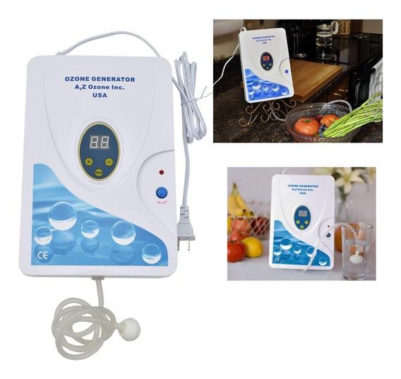 Purificador Ozono Agua-aire Desinfectante Sanitizante