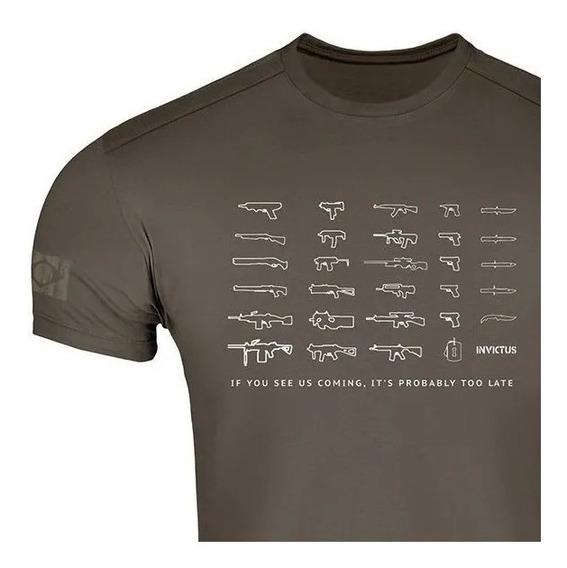 Camiseta T-shirt Concept Arsenal Invictus