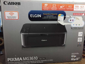 Impressora Canon Pixma Mg3610 (com Problema)