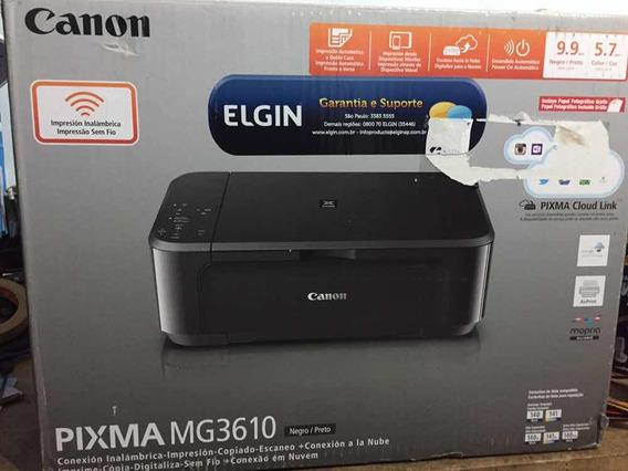 Impressora Canon Pixma Mg3610 Com Defeito