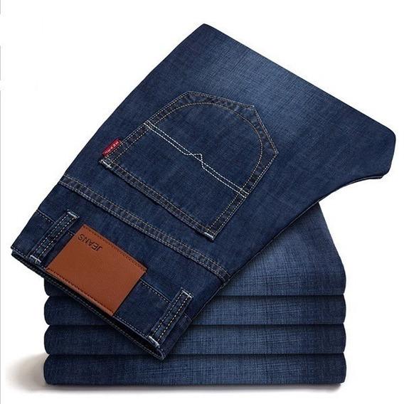 Kit C/ 5 Calça Jeans Masculina Marca Slim Skinny Lançamento