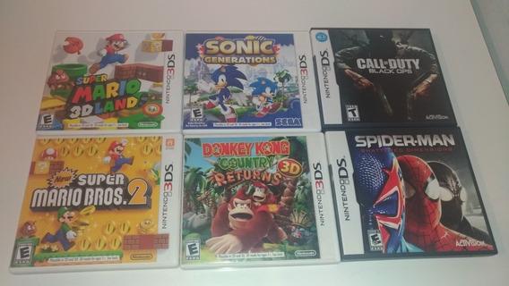 6 Jogos Super Mario 2 E 3dland Sonic Donkey Kong Só Jogão