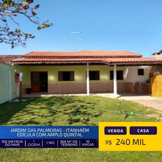 Linda Casa Á 100 Metros Da Praia Em Itanhaém Litoral Sul Sp