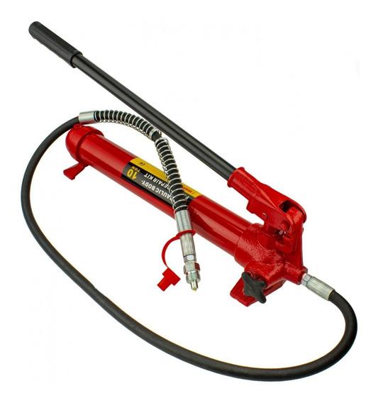 Bomba Hidraulica Manual Porto Power Con Manguera Y Cople