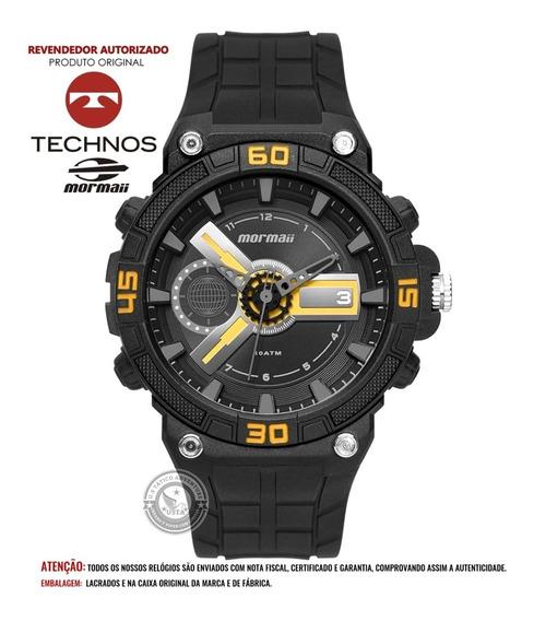 Relógio Mormaii Esportivo Wave Preto Moy120ab Technos C/nfe