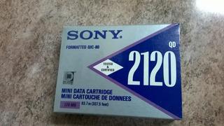 Data Mini Cartridge Sony 2120 Q D 120 Mb