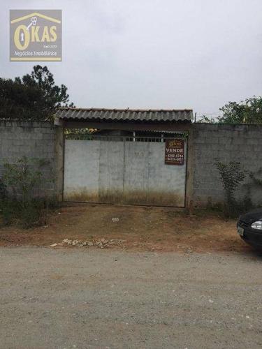 Imagem 1 de 22 de Chácara Com 2 Dormitórios À Venda, 1090 M² Por R$ 235.000,00 - Fazenda Aya - Suzano/sp - Ch0047