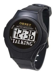 Reloj Parlante Talking Habla Ciegos No Videntes Baja Vision