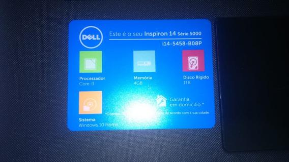 Notebook Dell Novo