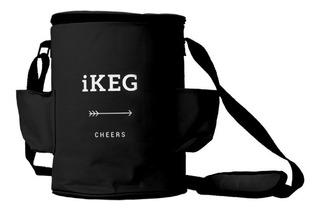 Bolsa Térmica Preta Para Ikeg De 5l