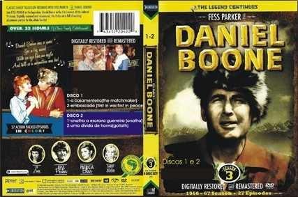 Daniel Boone - 3ª E 4ª Temps-nova Imagem Digital-dublado
