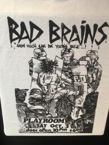 Imagen 1 de 3 de Bad Brains - Hardcore Punk - Polera- Cyco Records
