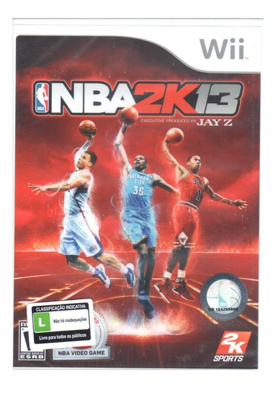 Nba 2k13 Wii Game Original Lacrado