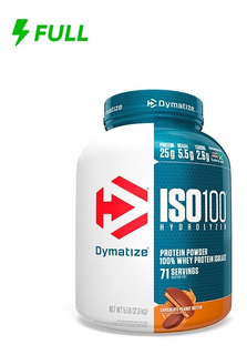 Whey Protein Isolate Iso 100 Isolado Dymatize 5lbs Chocolate