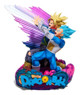 Dragon Ball Super Diorama Vegeta Trunks (original) Banpresto