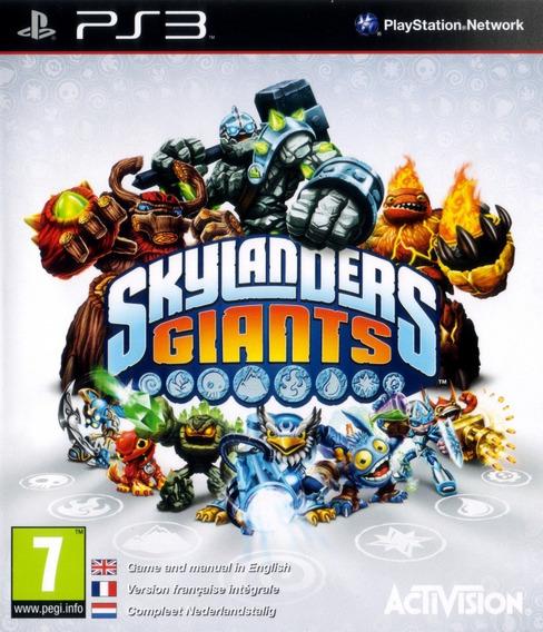 Jogo Skylanders Playstation 3 Ps3 Mídia Física Sem Bonecos