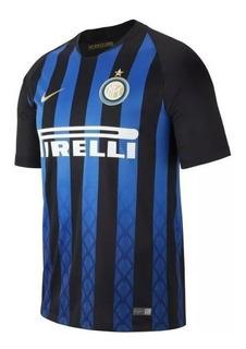 Camiseta Azul Inter De Milão 18/19 Original - Frete Grátis