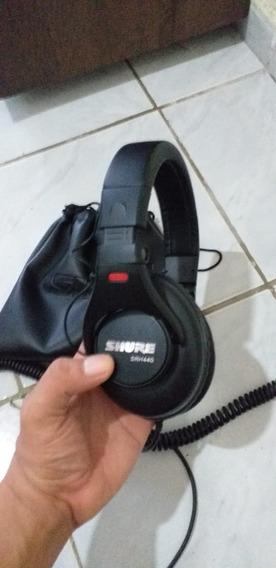 Headphone Fone Shure Srh440 (mixagem,home Studio, Akg)