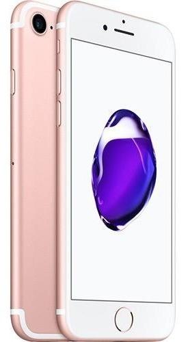 iPhone 7 32gb Ouro Rosa Tela 4.7  Ios 10 4g Câmera 12mp