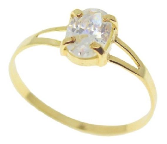 Anel Maciço 1,5 Grs Ouro 18k 750 Escolha A Cor Da Pedra