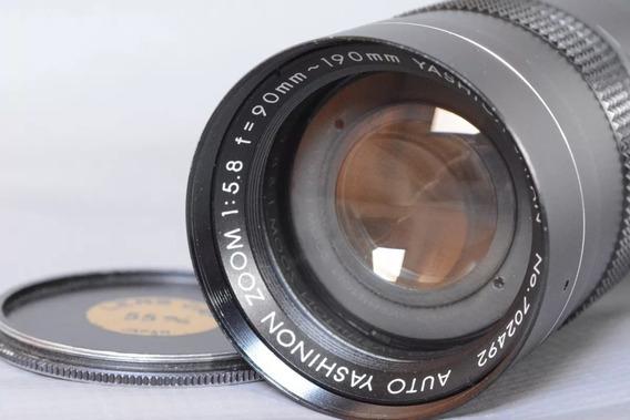 Lente Objetiva Auto Yashica Zoom 1:5.8 F=90-190mm