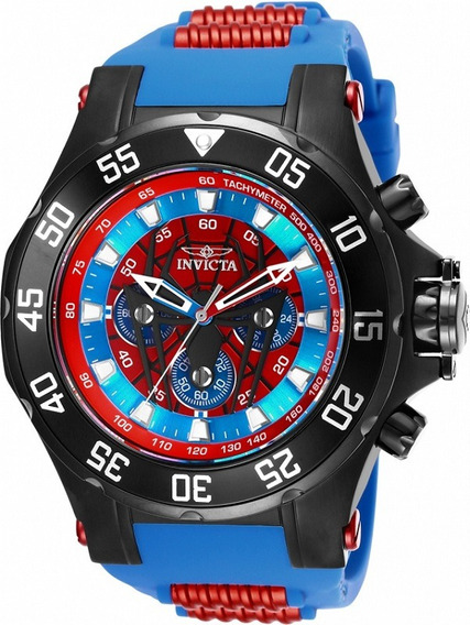 Relógio Invicta Marvel Spider Man Preto Original