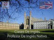 Clases De Inglés-profesor Nativo /first/toefl/ielts/speaking