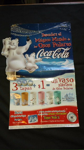 Poster O Afiche De Coca Cola, Oso Polar, Buen Estado