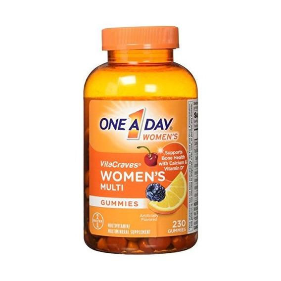 De Las Mujeres Vitacraves Gummies Adultos Multivitaminas 230