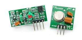 Módulo Rf Transmissor + Receptor 433mhz ( Frete R$12,00 )