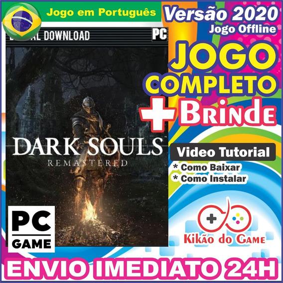 Dark Souls Remastered Pc Digital Br + Brinde
