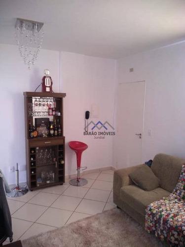 Imagem 1 de 11 de Apartamento À Venda, 58 M² Por R$ 250.000,00 - Vila Mafalda - Jundiaí/sp - Ap1706
