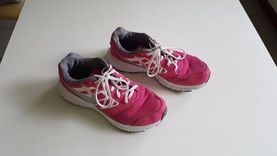 Zapatillas Nike Mujer Color Rosa Fuerte